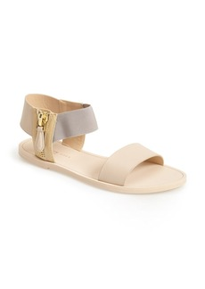 Kenneth Cole New York 'Ana' Leather Ankle Strap Sandal (Women)