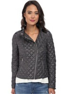 Kenneth Cole New York Asymmetrical Quilted Jacket