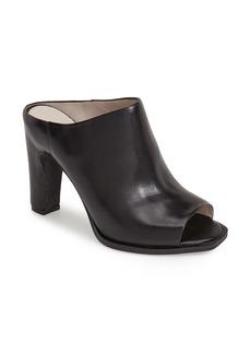 Kenneth Cole New York 'Beacon' Peep Toe Leather Mule (Women)