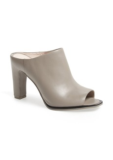 Kenneth Cole New York 'Beacon' Peep Toe Leather Mule (Women)