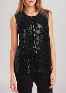 Kenneth Cole New York Beatriz Sequin Top