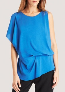 Kenneth Cole New York Brandon Drape Front Blouse