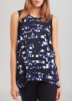Kenneth Cole New York Brynlee Abstract Stripe Top