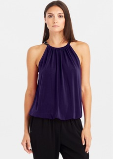 Kenneth Cole New York 'Bunny' Belt Strap Neck Top