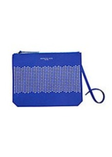KENNETH COLE NEW YORK Caton Street Perforated Leather Clutch