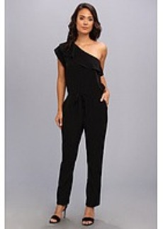 Kenneth Cole New York Crepe One-Shoulder Jumpsuit