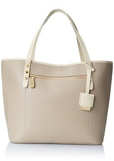 Kenneth Cole New York Dover Street Tote Shoulder Bag, Mushroom Combo, One Size