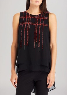 Kenneth Cole New York Elke Beaded Top
