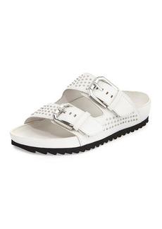 Kenneth Cole New York Erin Studded Buckled Sandal