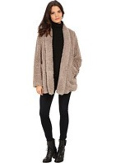 Kenneth Cole New York Faux Fur Oversized Blazer Coat