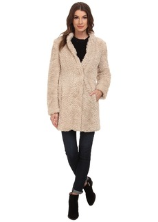 Kenneth Cole New York Faux Fur Teddy Coat