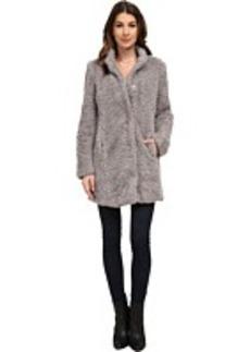 Kenneth Cole New York Faux Fur Teddy Coat