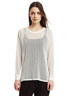 KENNETH COLE NEW YORK Fiorella Knit Top