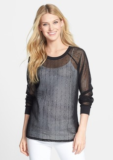 Kenneth Cole New York 'Fiorella' Sequin Mesh Top