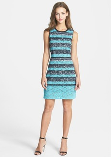 Kenneth Cole New York 'Fleur' Sheath Dress (Petite)