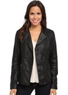 Kenneth Cole New York Gia Leather Jacket