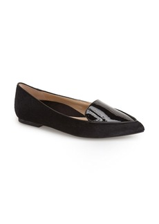 Kenneth Cole New York 'Gina' Pointy Toe Flat (Women)