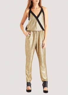 Kenneth Cole New York Gwyneth Metallic Jumpsuit