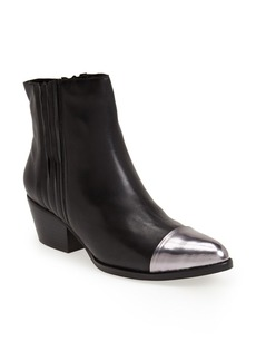 Kenneth Cole New York 'Hansley' Pointy Toe Leather Bootie (Women)