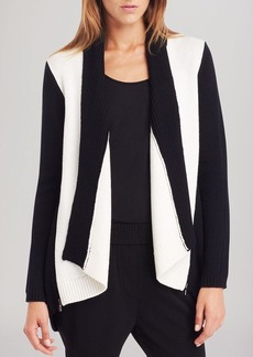 Kenneth Cole New York Haven Color Block Cardigan