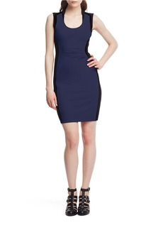 KENNETH COLE NEW YORK Helice Colorblock Sheath Dress