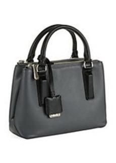 KENNETH COLE NEW YORK Houston Street Leather Crossbody Bag