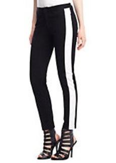 KENNETH COLE NEW YORK Jane Tuxedo Stripe Pants