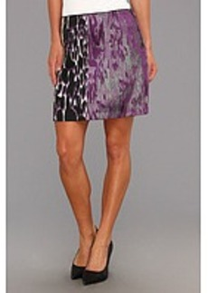 Kenneth Cole New York Juliet Print-Blocked Skirt