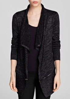 Kenneth Cole New York Maribeth Metallic Knit Cardigan - Bloomingdale's Exclusive