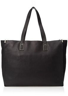 Kenneth Cole New York Mercer Tote Top Handle Bag, Black, One Size