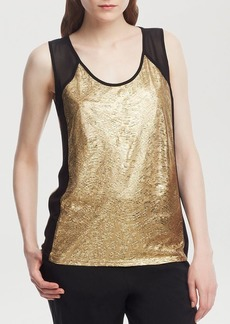 Kenneth Cole New York Michelle Metallic Panel Top