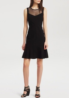 Kenneth Cole New York Neda Illusion Dress