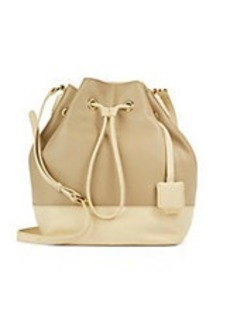 KENNETH COLE NEW YORK Nevins Street Leather Bucket Bag