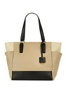 KENNETH COLE NEW YORK Nevins Textured Leather Tote