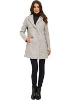 Kenneth Cole New York Novelty Tweed Wool Coat