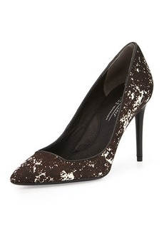 Kenneth Cole New York Parkville Calf Hair High-Heel Pump