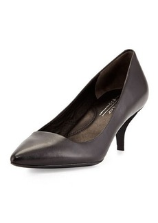 Kenneth Cole New York Pearl Leather Low-Heel Pump