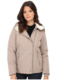 Kenneth Cole New York Quilted Asymmetrical Jacket