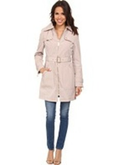 Kenneth Cole New York Quilted Trench Coat