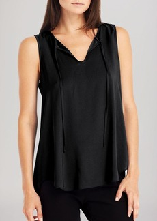 Kenneth Cole New York Rowan Pleated Back Top
