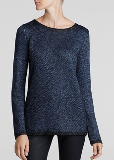 Kenneth Cole New York Samara Metallic Pattern Sweater