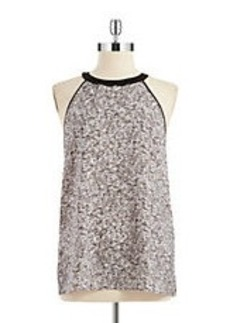 KENNETH COLE NEW YORK Sequin Patterned Top