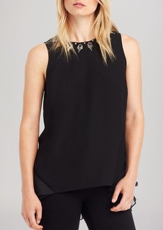 Kenneth Cole New York Simone Embellished Top