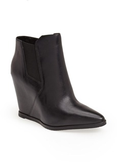 Kenneth Cole New York 'Sloane' Leather Wedge Bootie (Women)