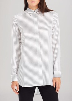 Kenneth Cole New York Terry Pinstripe Shirt