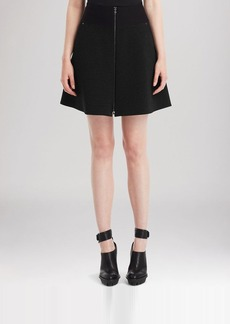 Kenneth Cole New York Thayer Zip Mini Skirt