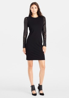 Kenneth Cole New York 'Trudy' Lace Sleeve Dress