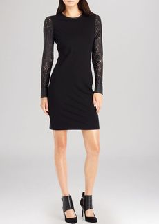 Kenneth Cole New York Trudy Lace Sleeve Dress