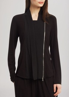 Kenneth Cole New York Ventura Asymmetric Zip Jacket