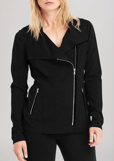 Kenneth Cole New York Willa Knit Moto Jacket